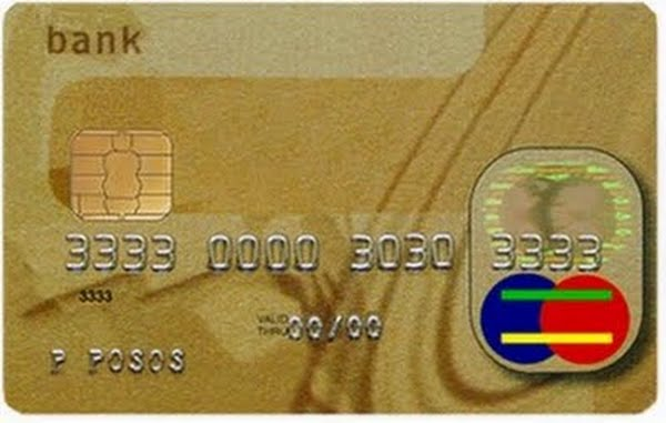 Credit Card Actual Size Image