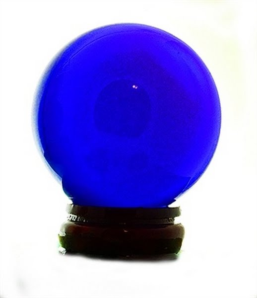 Crystal Ball Actual Size Image