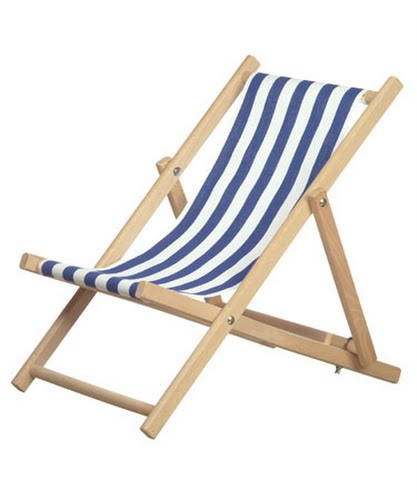 deck chair Actual Size Image