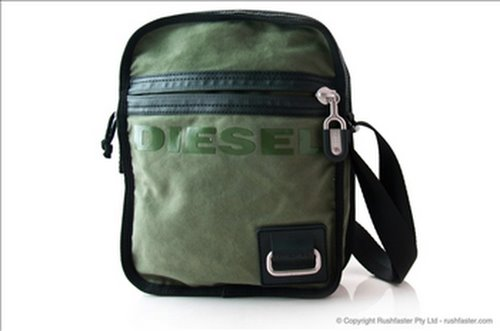 Diesel Weever Utility Bag Actual Size Image