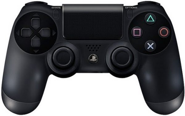 Dualshock 4 controller Actual Size Image