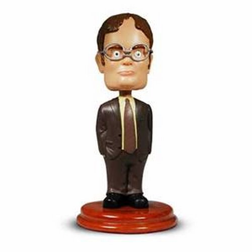 Dwight Schrute Bobblehead Actual Size Image
