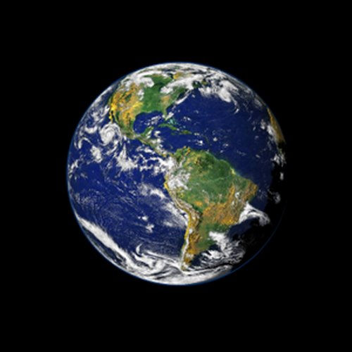 Earth Actual Size Image