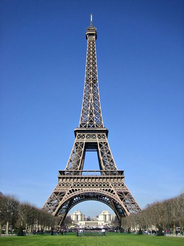 Eiffel Tower Actual Size Image