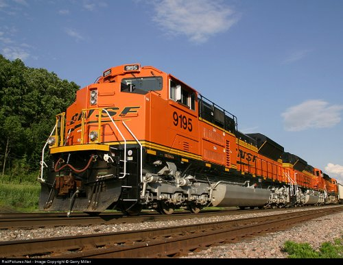 EMD SD 70 ACe Actual Size Image