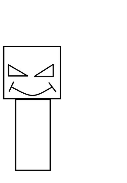 Enderman Actual Size Image