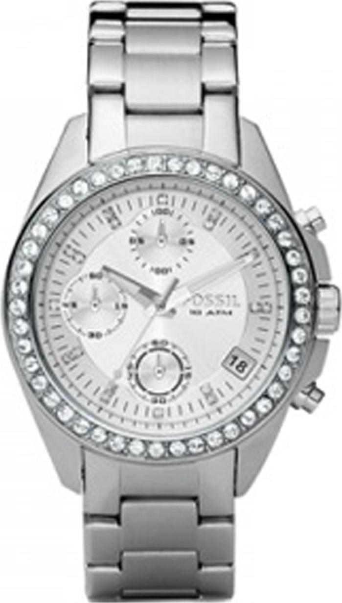 Fossil Women's ES2681 Stainless Steel Watch Actual Size Image