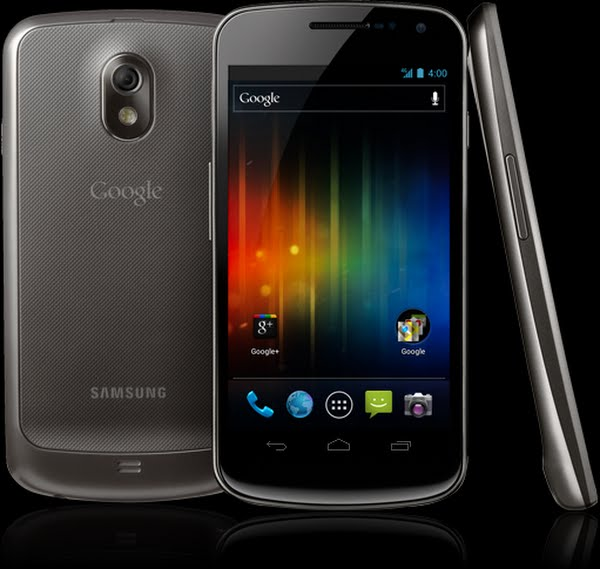 Galaxy Nexus Actual Size Image