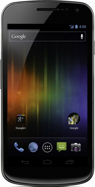 Galaxy Nexus (HSPA+) Actual Size Image