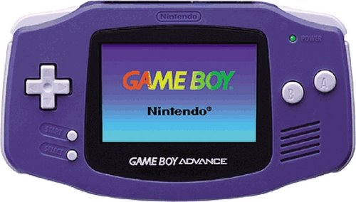 Gameboy Advance Actual Size Image