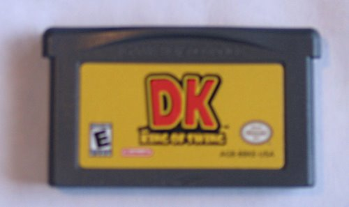 GBA cartridge Actual Size Image