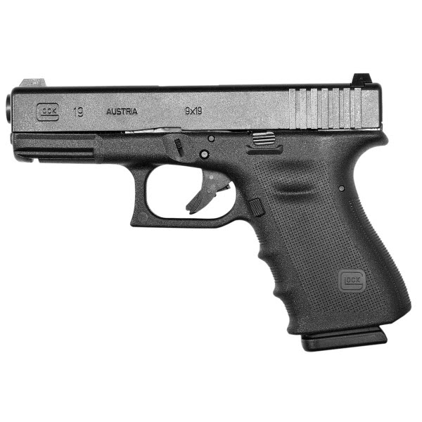 Glock 19 Actual Size Image