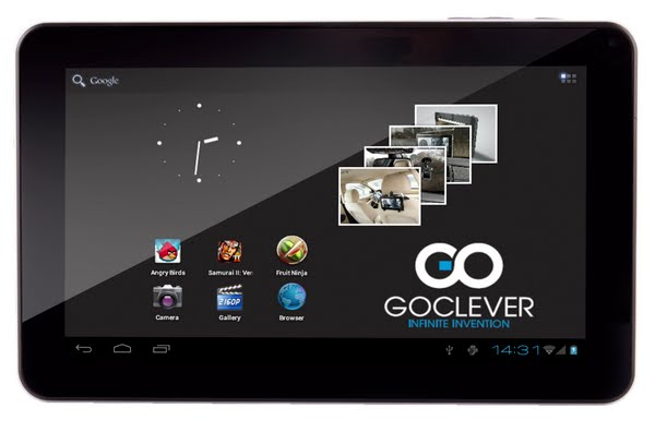 Goclever TAB T76GPS Actual Size Image