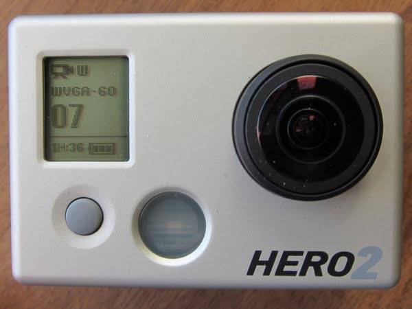 GoPro HD Hero 2 Actual Size Image