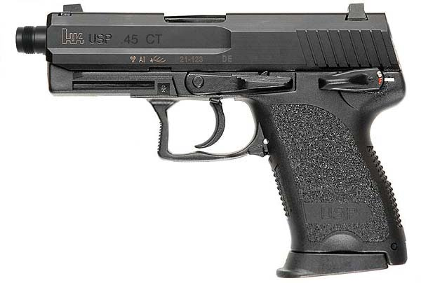 H&K USP Compact Tactical Actual Size Image