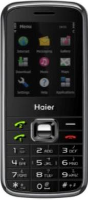 Haier V700 Actual Size Image