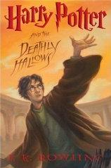 Harry Potter and the Deathly Hallows Hardcover Actual Size Image