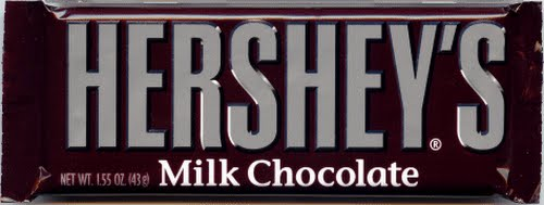 hershey bar Actual Size Image