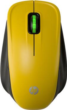 HP Wireless Optical Comfort Mouse Actual Size Image