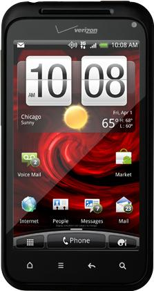HTC DROID Incredible 2 Actual Size Image