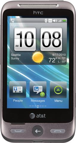 HTC Freestyle Actual Size Image