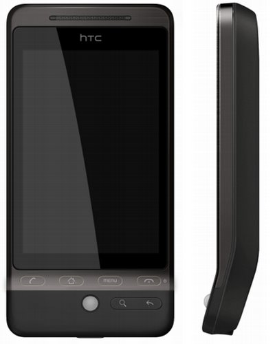 HTC Hero (2) Actual Size Image