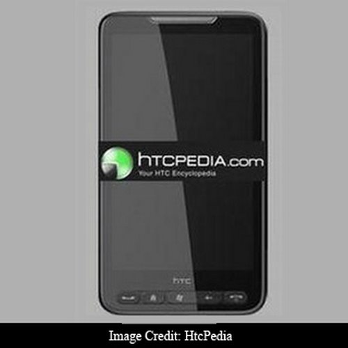 HTC LEO Actual Size Image