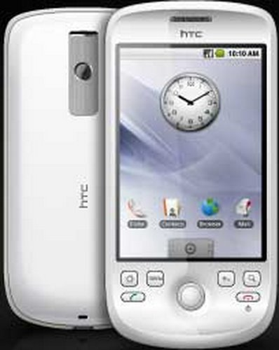 HTC magic Actual Size Image