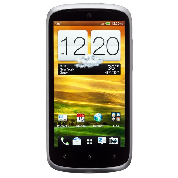 HTC One VX Actual Size Image