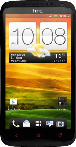 HTC One X Plus Actual Size Image