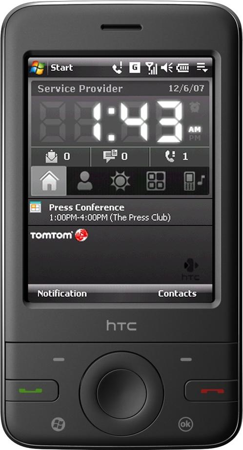 HTC P3470 Actual Size Image