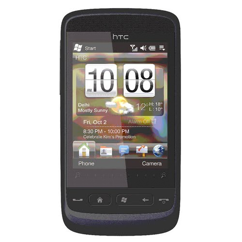 Htc Touch 2 Actual Size Image