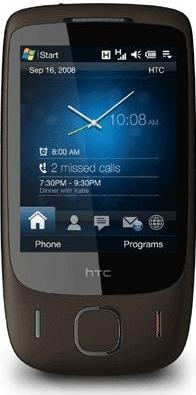 HTC Touch 3G Actual Size Image