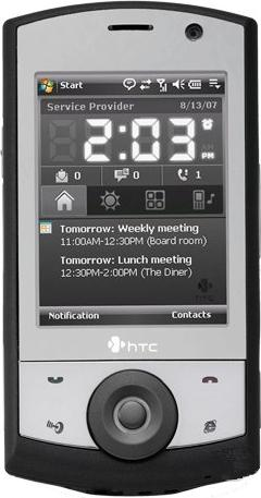 HTC Touch Cruise Actual Size Image