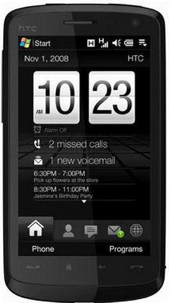 HTC Touch HD T8285 Actual Size Image
