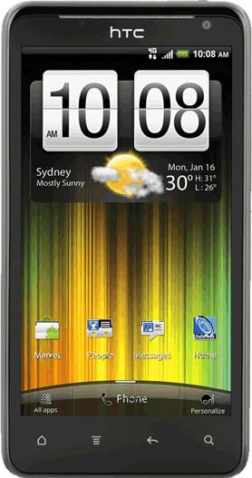 HTC Velocity 4G Actual Size Image