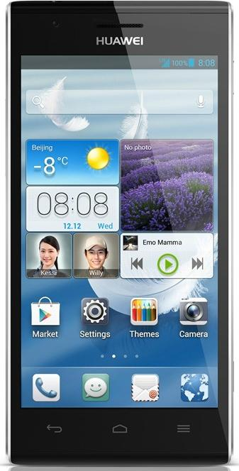 Huawei Ascend P2 Actual Size Image