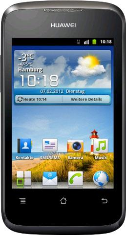 Huawei Ascend Y200 Actual Size Image