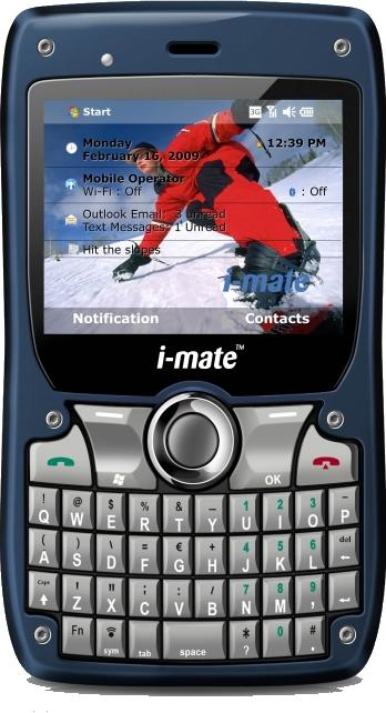 i-mate 810-F Actual Size Image