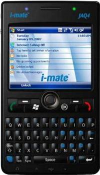 i-mate JAQ4 Actual Size Image