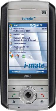 i-mate PDAL Actual Size Image