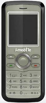 i-mobile 201 Actual Size Image