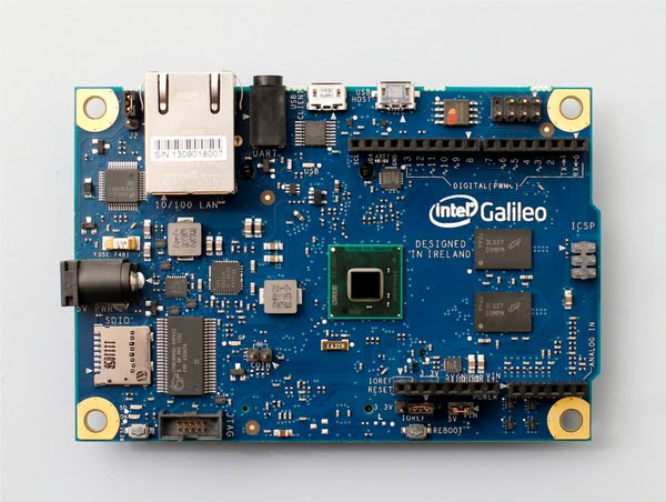 Intel Galileo Actual Size Image