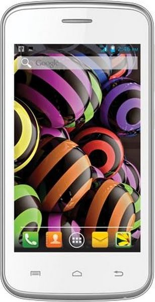 Intex Cloud Y12 - Starmobile Play Actual Size Image