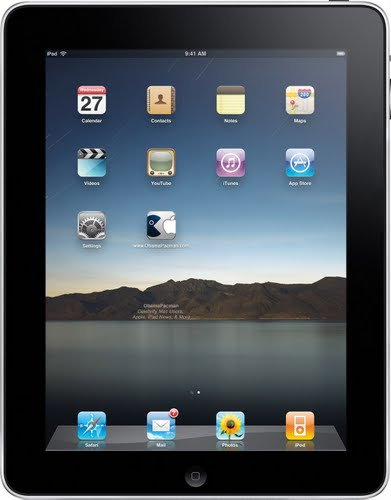 iPad (2) Actual Size Image