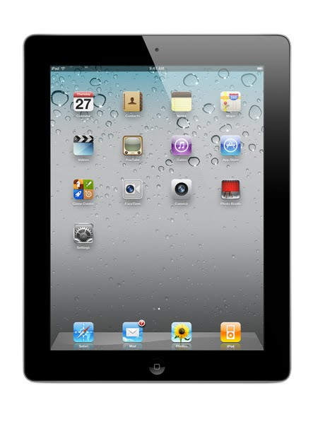 ipad 2 Actual Size Image