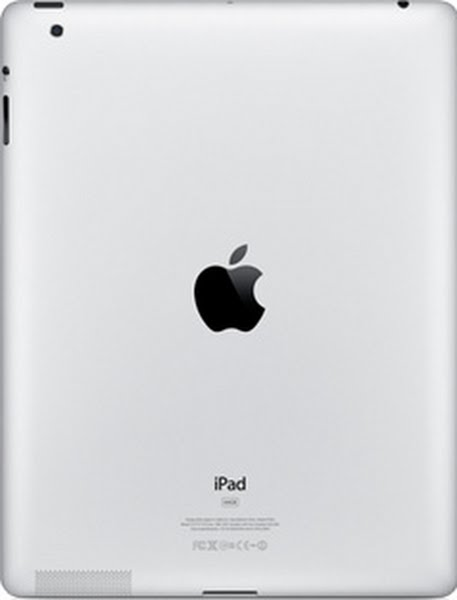 ipad back real size Actual Size Image