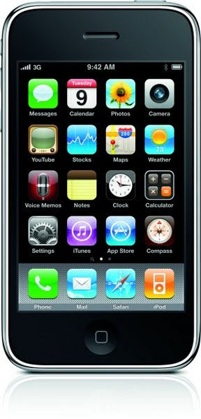 iPhone 3GS Actual Size Image