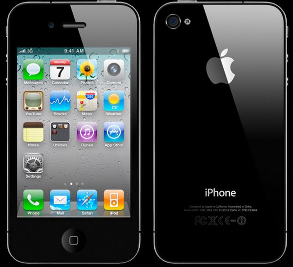 iphone 4 Actual Size Image