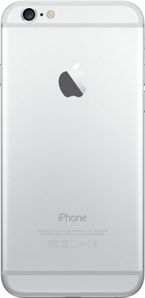 iPhone 6 Actual Size Image